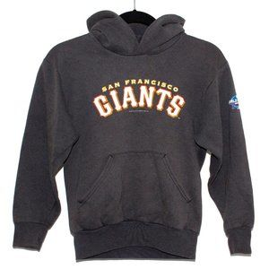 Vintage Kids SF Giants 2002 World Series Hoodie